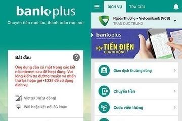 Vietcombank: Phí dùng Mobile Bankplus tiếp tục thay đổi, nhiều giao dịch không còn