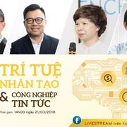 NDH tổ chức NDH Talk 07 chủ đề 'Trí tuệ nhân tạo & Công nghiệp tin tức'