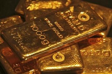 Đồng USD giảm mạnh kéo giá vàng đầu tuần tăng