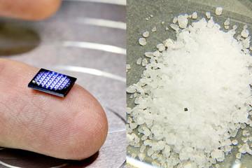 IBM ra mắt máy tính bé bằng hạt muối