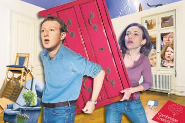 Zuckerberg im lặng giữa 'tâm bão'