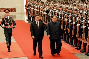[Chùm ảnh] Chủ tịch Trung Quốc tiếp Kim Jong-un theo 'đẳng cấp Trump'
