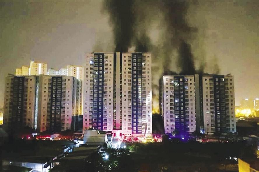 """""""Giá chung cư có thể giảm sau các vụ cháy"""""""