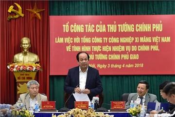 Thủ tướng nhắc nhở Tổng công ty Xi măng trong bối cảnh cạnh tranh quyết liệt