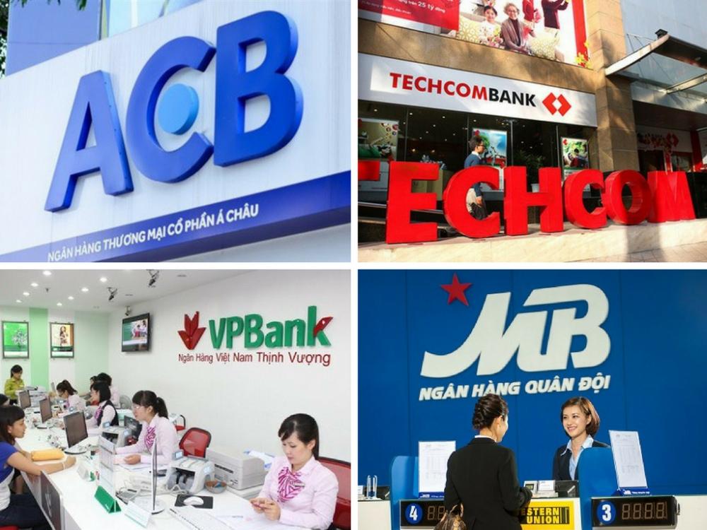 Moody's nâng xếp hạng tín nhiệm Techcombank, ACB, VPBank và MBBank