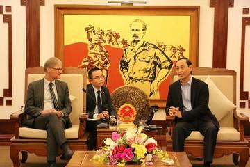 Tập đoàn hàng không top đầu Đức muốn đầu tư vào lĩnh vực hàng không Việt Nam
