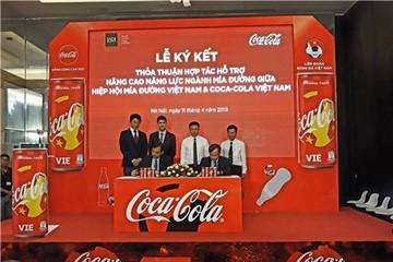 Coca Cola Việt Nam cam kết sẽ tiêu thụ 100% đường trong nước từ 2018-2020