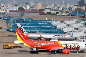Vận tải hàng không tăng trưởng mạnh năm 2017