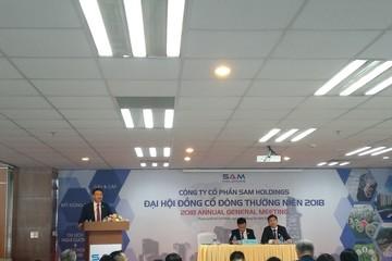 ĐHĐCĐ SAM: Đã thoái vốn DXG thu lãi 130 tỷ, kế hoạch 2018 lãi 180 tỷ