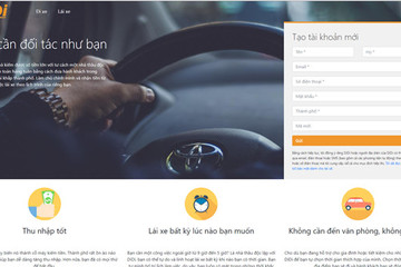 Ứng dụng nhái Didi Chuxing xuất hiện tại Việt Nam hút tài xế Uber cũ