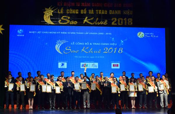 Top 10 dịch vụ CNTT Việt Nam đạt giải thưởng Sao Khuê 2018
