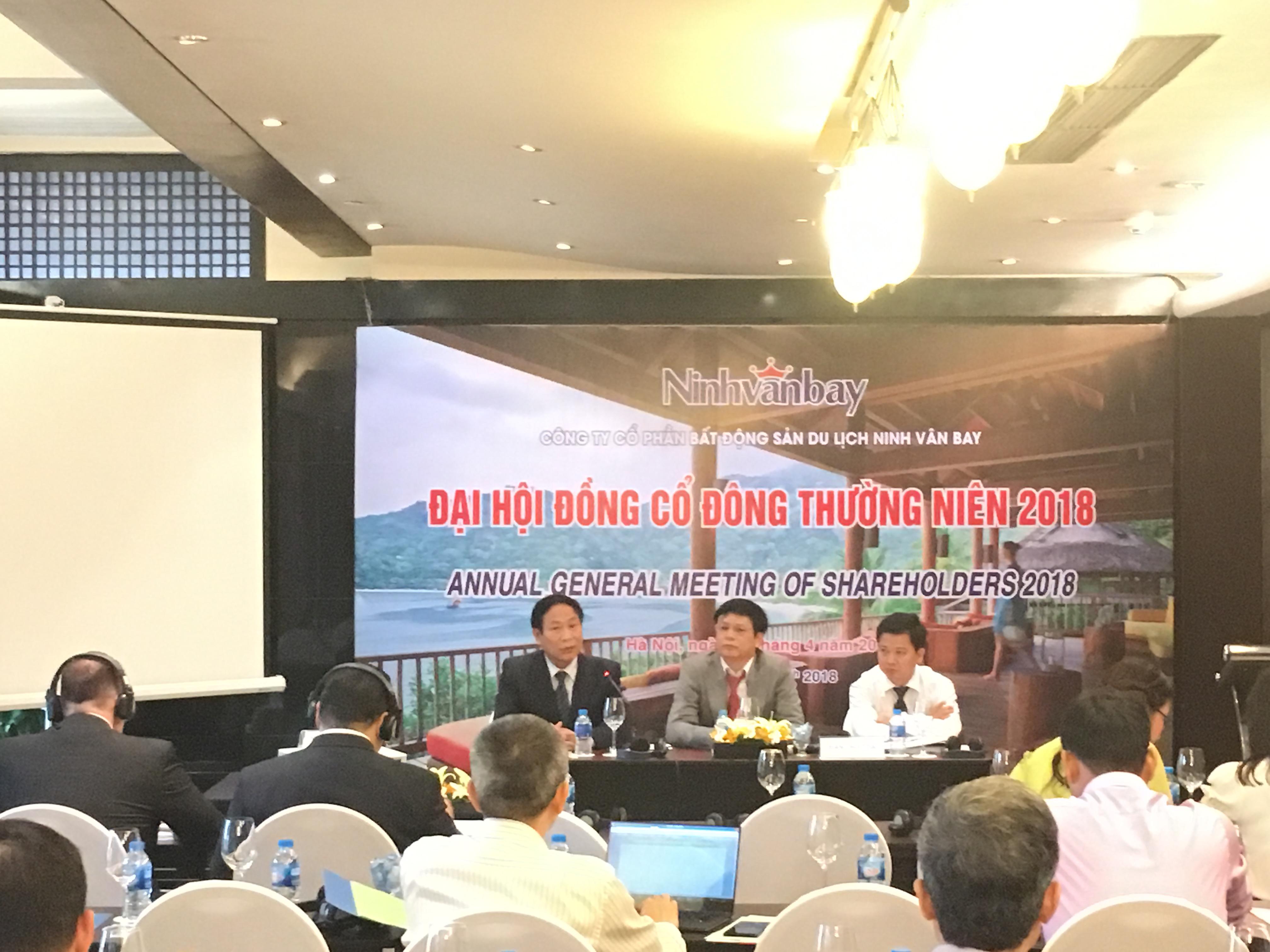ĐHĐCĐ Ninh Vân Bay: Cổ đông chất vấn tính minh bạch khi cho vay công ty có liên quan đến HĐQT