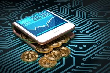 Bitcoin tăng 7% lên hơn 9.600 USD trong bối cảnh  đà bán tháo của chứng khoán Mỹ