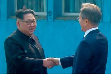 Cuộc gặp lịch sử của lãnh đạo Hàn - Triều