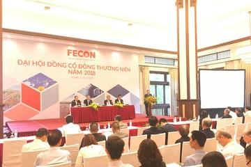 ĐHĐCĐ Fecon: Kế hoạch lãi tăng 56% trong năm 2018, đàm phán chào bán riêng lẻ giá 30.000 đồng/cp