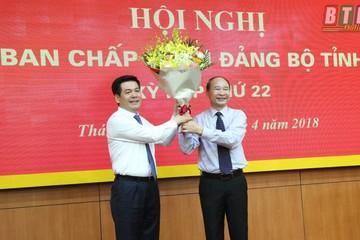 Thái Bình có tân Bí thư Tỉnh ủy