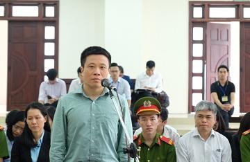 Bị cáo Hà Văn Thắm: