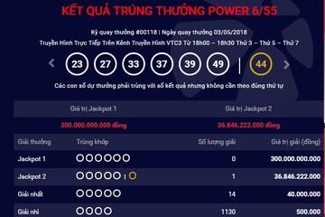 Jackpot 2 của Vietlott có người trúng gần 37 tỷ đồng