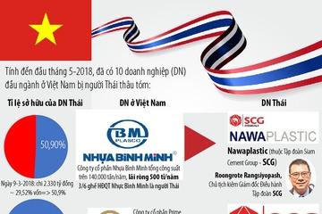 3 đại gia Thái thâu tóm 10 'ông lớn' ở Việt Nam