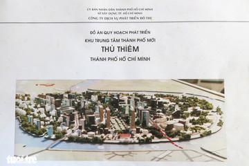 Ông Võ Viết Thanh công bố 13 bản đồ quy hoạch Thủ Thiêm 1/5000