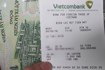 Thêm VietinBank, Vietcombank tăng phí rút ATM nội mạng