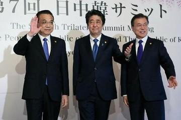 Lãnh đạo Trung - Nhật - Hàn họp lần đầu trong 3 năm