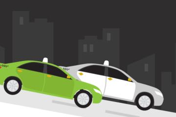 [Infographic] Hành trình đi xuống của taxi truyền thống