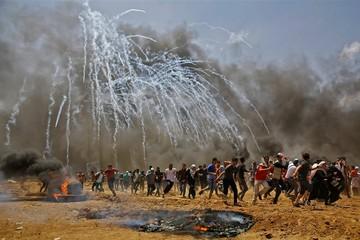 Khói lửa, chết chóc tại Gaza trong đụng độ Palestine - Israel