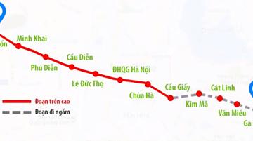 Thép Hòa Phát được chọn cung cấp sản phẩm cho tuyến Metro trọng điểm đầu tiên tại Hà Nội