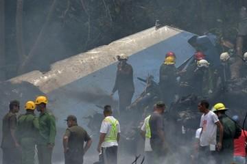 Máy bay chở hơn 100 người rơi ở Cuba