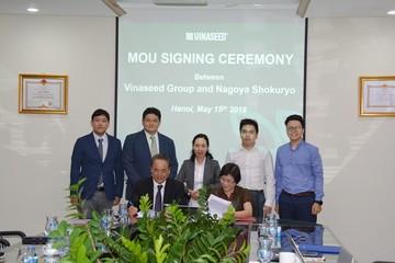 Vinaseed Group hợp tác với tập đoàn Nhật sản xuất gạo sạch