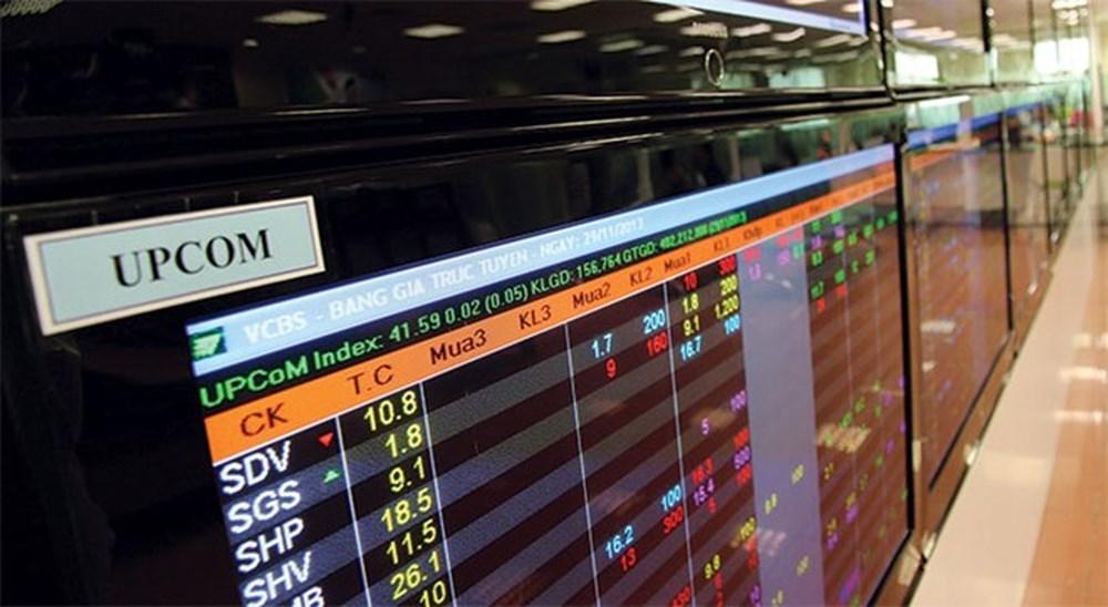 17 cổ phiếu bị tạm ngừng giao dịch trên sàn UPCoM