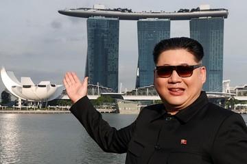 Người đóng giả Kim Jong-un tới Singapore 'chờ' Trump