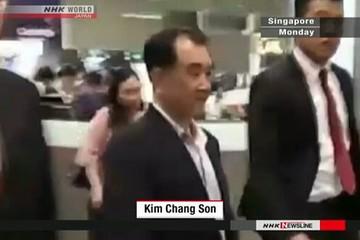 Trợ lý hàng đầu của Kim Jong-un đến Singapore gặp phái đoàn Mỹ