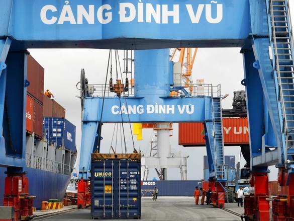 Cảng Đình Vũ chốt ngày trả cổ tức tiền đợt 2/2017 tỷ lệ 20%