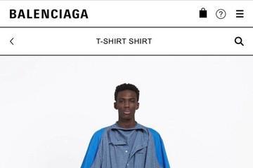 Áo phông giả sơ mi giá gần 29 triệu đồng của Balenciaga gây tranh cãi