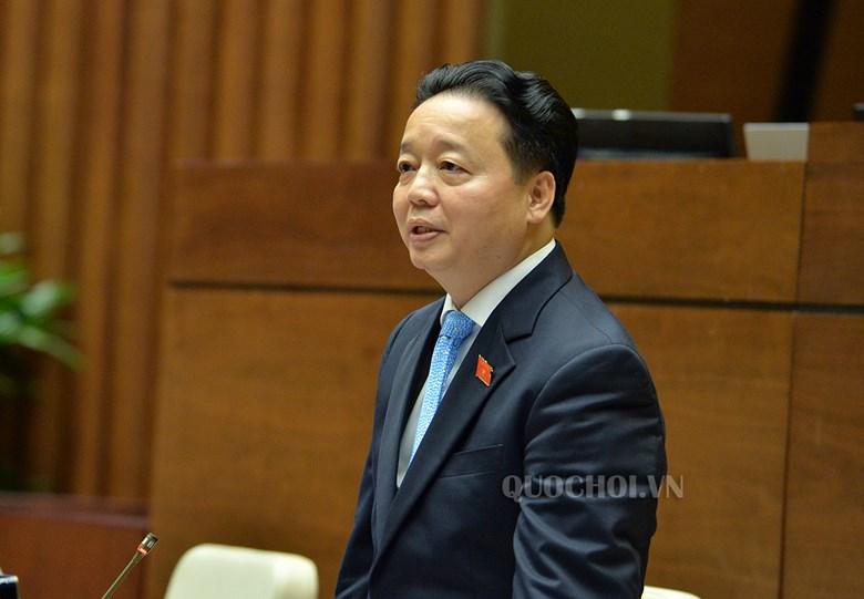 """Bộ trưởng Trần Hồng Hà: """"Đã là tài sản thì không nên cho không ai cả"""""""