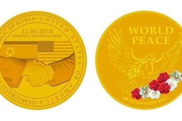 Singapore ra mắt huy chương kỷ niệm hội nghị thượng đỉnh Mỹ - Triều