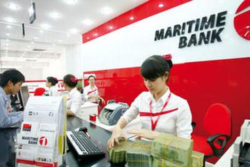 Gần 23% dư nợ của Maritimebank là bất động sản và hạ tầng