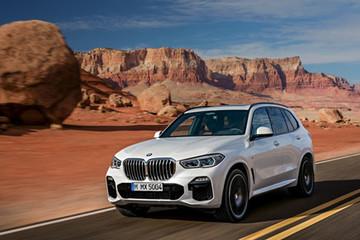 BMW X5 thế hệ mới trình làng - đe dọa Mercedes GLE