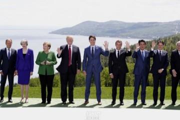 """Ông Trump bị """"lạnh nhạt"""" ở thượng đỉnh G7"""