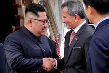 Lãnh đạo Triều Tiên Kim Jong-un tới Singapore