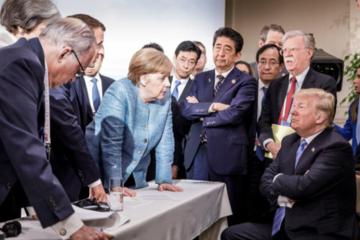 Đức - Pháp cáo buộc Trump 'hủy hoại niềm tin' ở G7
