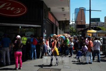 Lạm phát của Venezuela tăng 24.571% trong 12 tháng