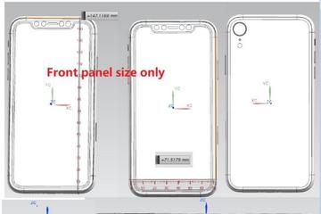 Bản vẽ iPhone 2018 để lộ thiết kế 3 camera