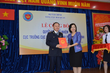 TP HCM có Cục trưởng hải quan sau 3 năm