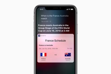 Apple 'ăn theo' World Cup bằng loạt tính năng mới