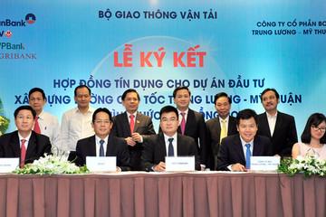Vay 6.800 tỷ đồng, cao tốc Trung Lương - Mỹ Thuận tiếp tục thi công