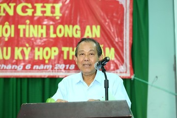 Phó Thủ tướng Trương Hoà Bình: Chống tham nhũng là xu thế không thể thay đổi