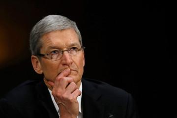 Tim Cook đứng gần chót bảng trong top 100 CEO nước Mỹ